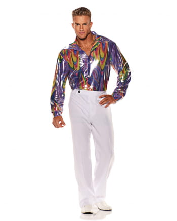Disco Costume Shirt Rainbow