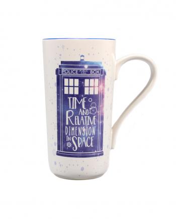 Doctor Who Tardis Latte Macchiato Tasse