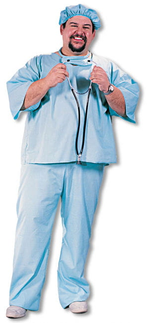 Doctor Doctor Costume Plus Size