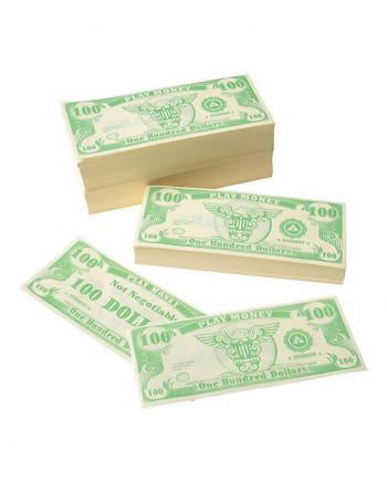 Dollar notes play money 1-1000
