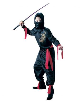 Drachen Ninja Kinderkostüm 8-tlg.