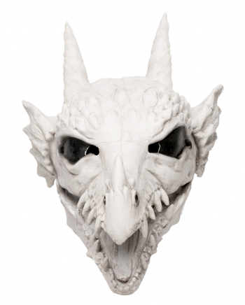 Dragon Skull Mask With Movable Jaw