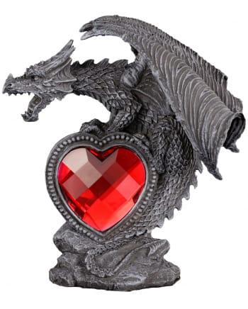 Dragon Figur mit Herz