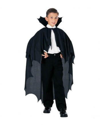 Dracula cape black children
