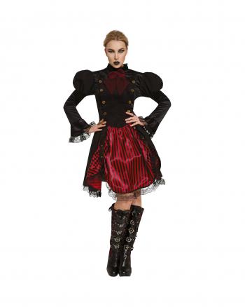 Finstere Goth Fürstin Kostüm für Damen