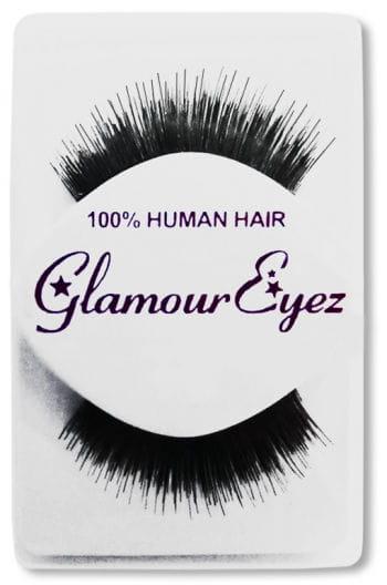 Human Hair Eyelashes Black Thin