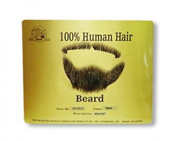 Real Hair Goatee 2PCS