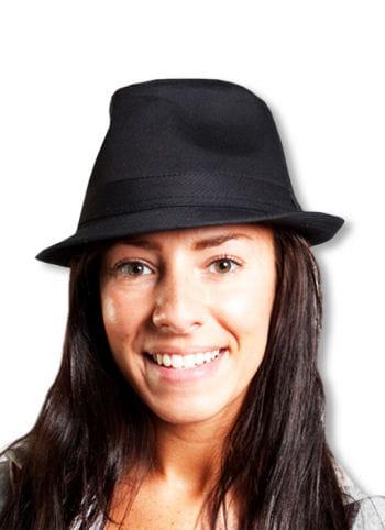 Elegant Mafia Hat Black