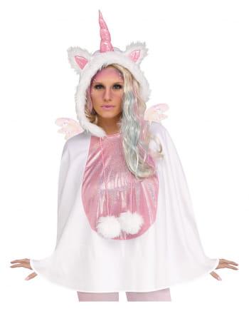 Unicorn Hooded Poncho