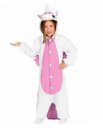 Kinderoverall white Unicorn
