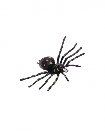 Disgusting Halloween Spiders 12 Pc.