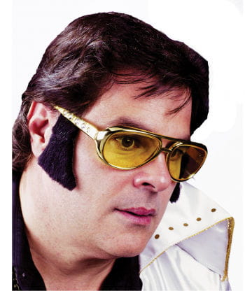 Rockn`n Roll glasses with sideburns