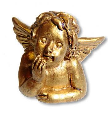 Engel Figur gold
