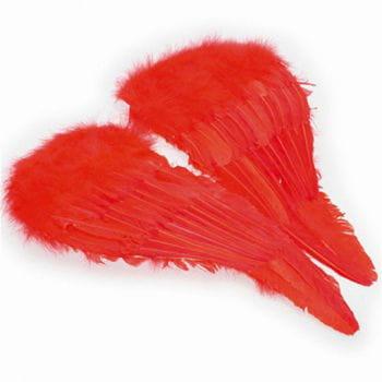 Federflügel rot