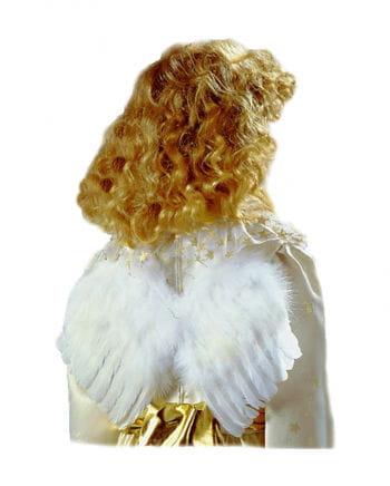 Weiße Engelsflügel 25 cm