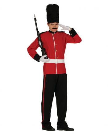 Kostüm britischer Royal Guard