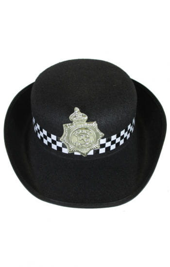English police woman`s hat