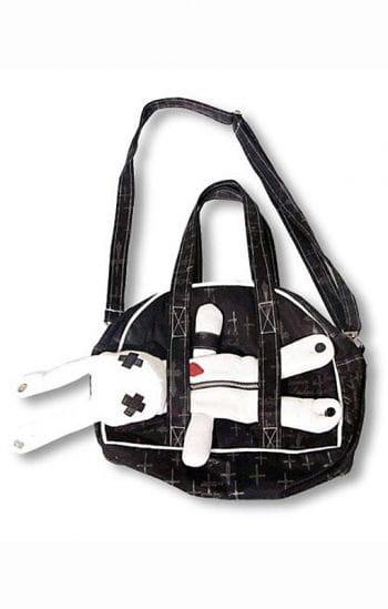 Evil Bunny Gothic Tasche schwarz weiß