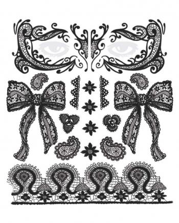 Face Tattoo Set Lace
