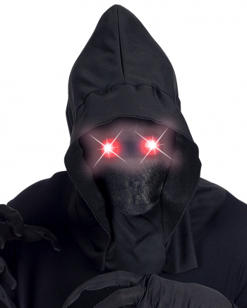 Faceless Mask With Shining Red Eyes