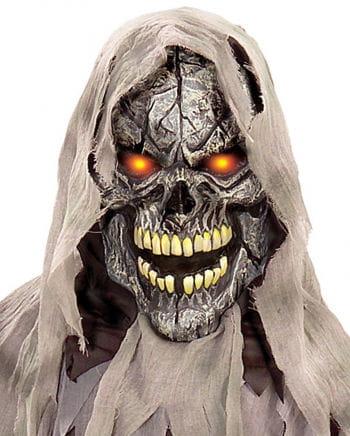 Blinkende Totenkopf Maske