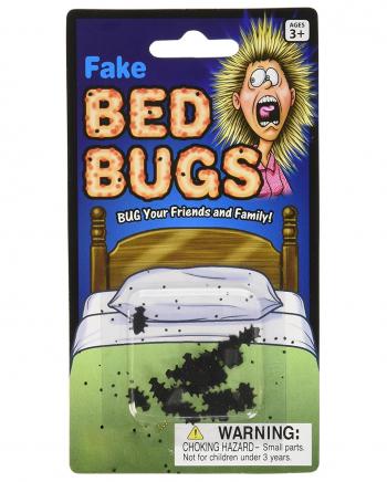 Fake Bettwanzen Scherzartikel