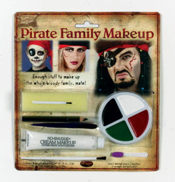 Family Piraten Make Up Set