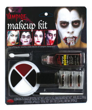 Family Vampir Make Up Set 11-tlg.
