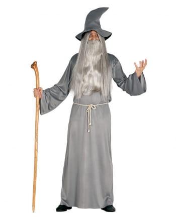 Weiser Magier Kostüm mit Hut