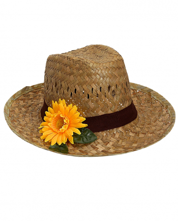 Farmers Hat With Sunflower