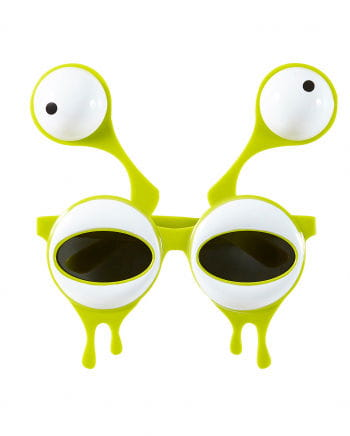 Alienaugen Faschingsbrille