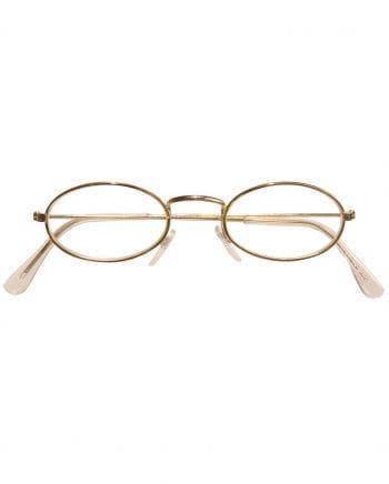 Brille mit ovalen Gläsern