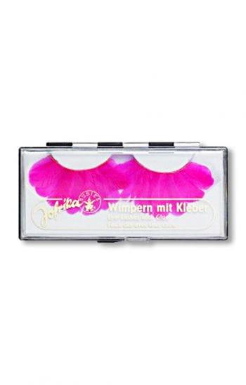 Feder Wimpern Pink