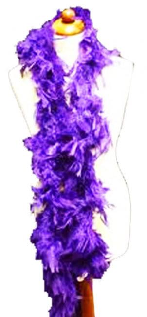 Feather Boa Purple