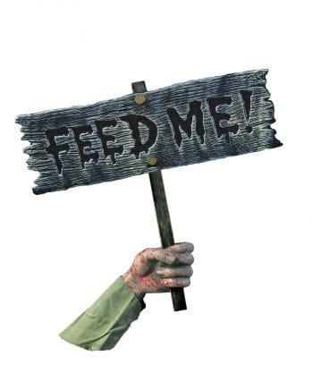Feed Me Zombie Gartendeko