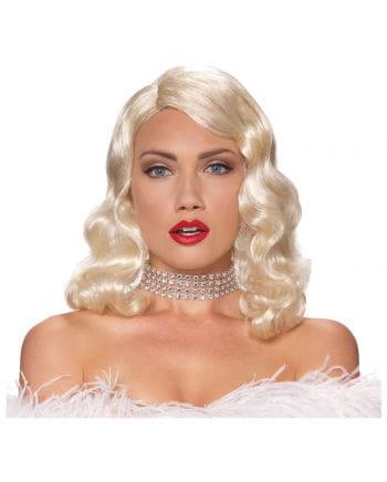 Blonde Femme Fatale Perücke