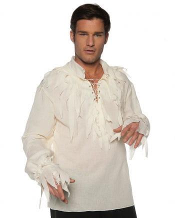 Shred Pirate Shirt Cream