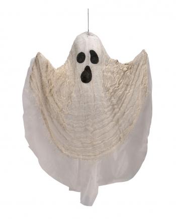 Weißer Gruselgeist Hängefigur 60cm
