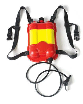 Firemen thirst quencher backpack