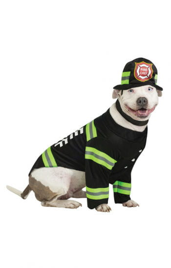 Feuerwehrkostüm für Hunde