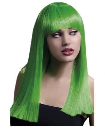 Damenperücke Alexia neon green