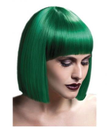 Lola Damen Perücke grün