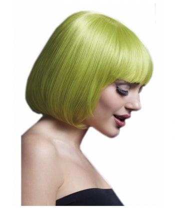 Mia Damen Perücke Pastellgrün