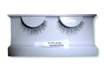 Delicate Real Hair Lashes Black