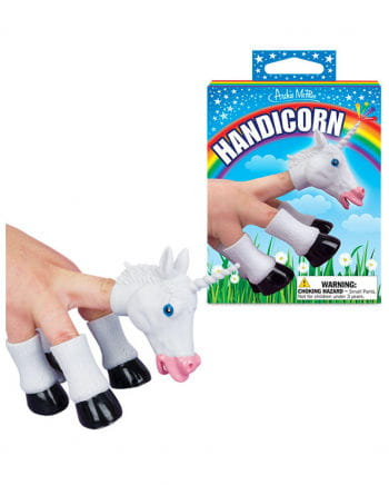 Fingerpuppe Unicorn