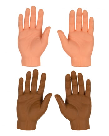 1 St. Lustige Fingerpuppe Hand High Five