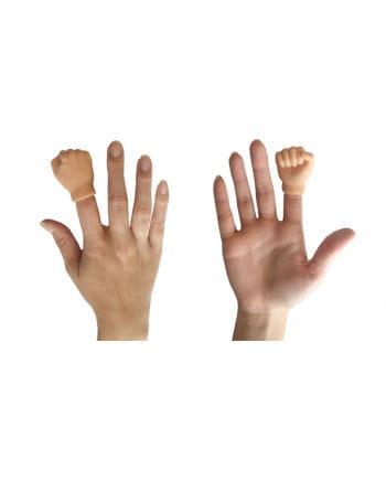 Faust Hand als Fingerpuppe