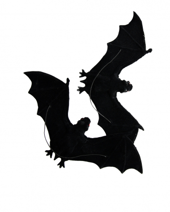Bat Deco To Hang Up Set Of 2