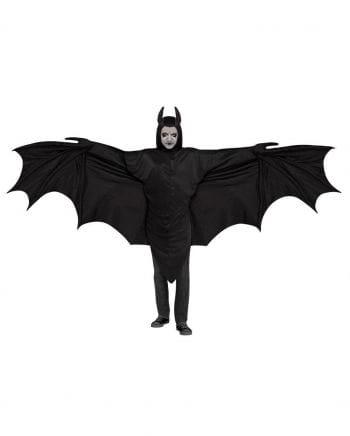 Fledermaus Kostüm mit riesigen Flügeln
