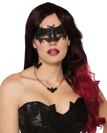 Lace Bat Eye Mask